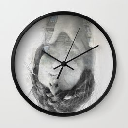 Learn to breathe Wall Clock