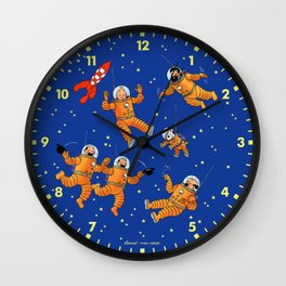 Perdu dans l'Espace Wall Clock