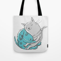 Hugtime Blues Tote Bag
