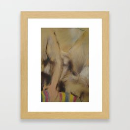 Klooster Series: Nude #07 Framed Art Print