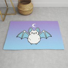 Cute Night Bat Rug