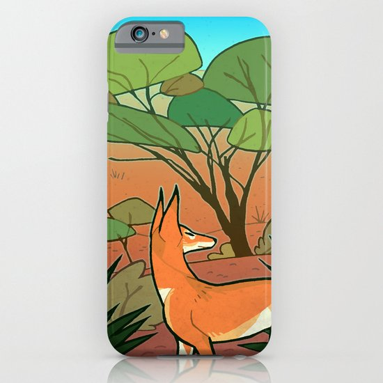 Ethiopian Wolf iPhone & iPod Case