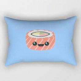Salmon Sushi with Rice Rectangular Pillow