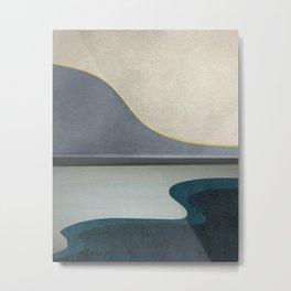 Minimal Landscape 05 Metal Print
