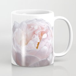 Pink Cabbage Rose Coffee Mug