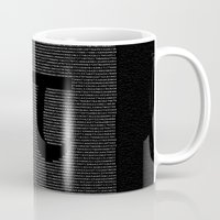 pi Mugs featuring Pi by The Colour Wheel