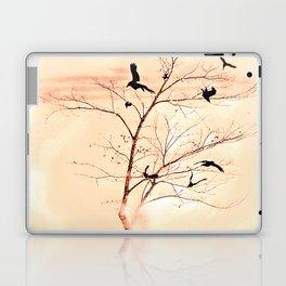 WHITEOUT/Peach Laptop & iPad Skin