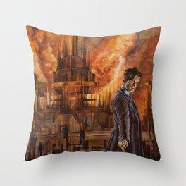 Saviour of Gallifrey Throw Pillow