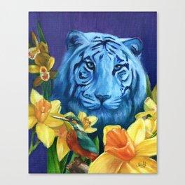 Fancy like a Tiger Canvas Print