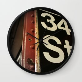 Where Miracles Happen Wall Clock