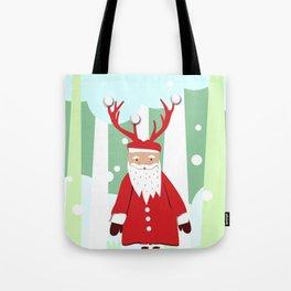 Undercover Santa Tote Bag