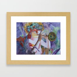 Chloris Framed Art Print