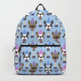 French bulldog birthday party Backpack