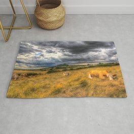 The Resting Cows Rug