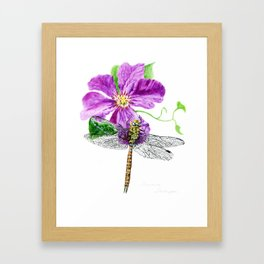 A Moment In Time by Teresa Thompson Framed Art Print