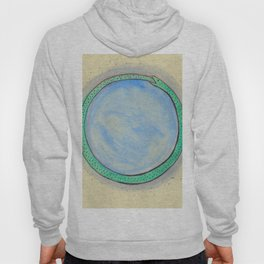 Ouroboros and Blue Orb Hoody