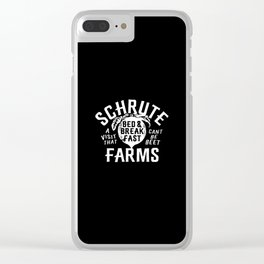 Bed Farms Clear iPhone Case