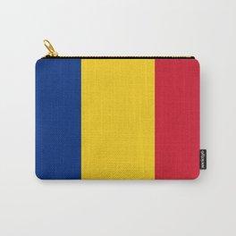 Flag of romania 3 -romania,romanian,balkan,bucharest,danube,romani,romana,bucuresti Carry-All Pouch