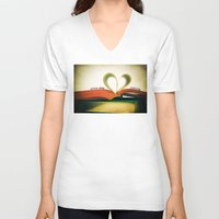 read V-neck T-shirts featuring Read by Lawson Images