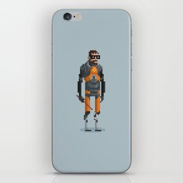 Man With a Crowbar iPhone Skin