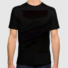 Agates, Slices of Earth Black MEDIUM Mens Fitted Tee