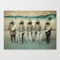the diving bell Tuba quintet Canvas Print