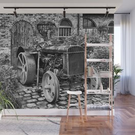 Antique Fordson Tractor of the type your Great Grandpa drove! Wall Mural
