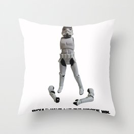 Loser Wookie Throw Pillow