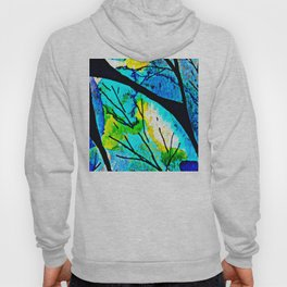 The time to bloom in flowers and colors. Celebrating the blossoming of life Hoody