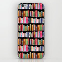 Christmas Antique Book Library for Bibliophile.bookworm, book lover, library, teachers , students, iPhone Skin