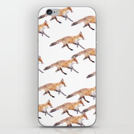 Foxes iPhone Skin