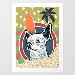 Dogs and Politics Art Print