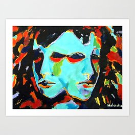 An illusion of delusion Art Print
