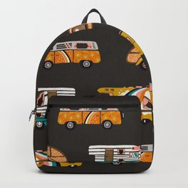 Retro Road Trip – Charcoal Backpack