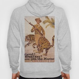 Vintage poster - Join the Marines! Hoody