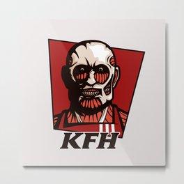Kentucky Fried Human Metal Print