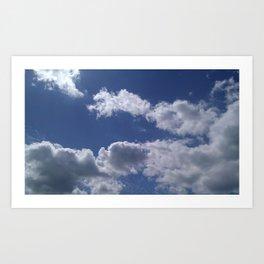Clouds 01 Art Print