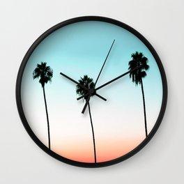 Sunset Boulevard #society6 #decor #buyart Wall Clock