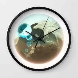 Dawn of marble Wall Clock
