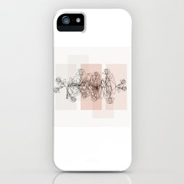 Life is a beautiful mess iPhone Case