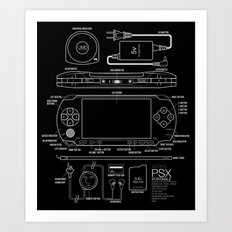 PSX Portable Art Print