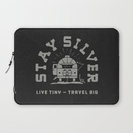 """""""Stay Silver"""" Retro Type (1 color) Laptop Sleeve"""