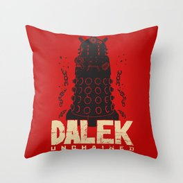 Dalek Unchained Throw Pillow