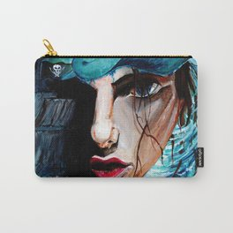 A Girl, a Pearl and a Sparrow Carry-All Pouch