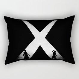 The Encounter Rectangular Pillow