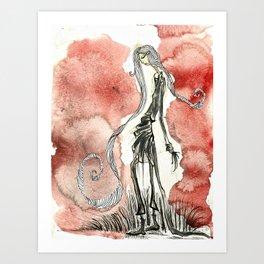 Walk on the wildside Art Print