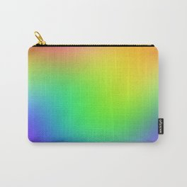 Bright Colorful Rainbow Ombre Design! Carry-All Pouch