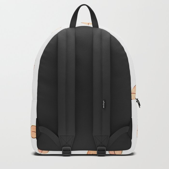 Pink Lips Pattern Backpack