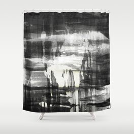 Outer Body Experience Shower Curtain