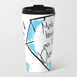 Male Tears are Like Diamonds Travel Mug